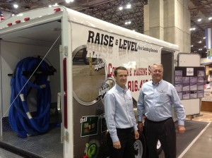 Ken and Jason at the KC Home Show in Kansas City.