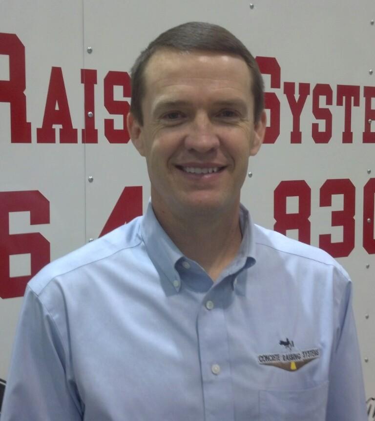 Jason Roland Co Owner Concrete Raising Systems 7318 N