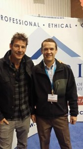 Ty Pennigton and Jason Roland at the KC Remodeling Show , Kansas City, Concrete Raising Systems