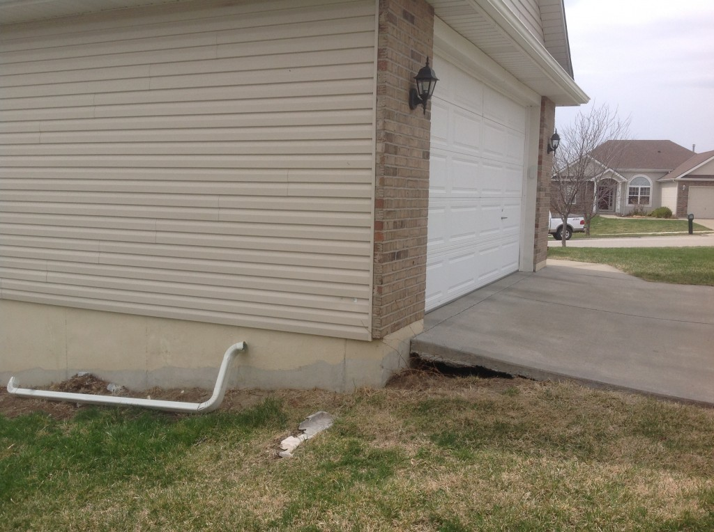 Need Void Filling? Call the professionals at Concrete Raising Systems 7318 N Donnelly Ave. Kansas City,MO 64158 to repair the gap or void under your concrete sidewalk.