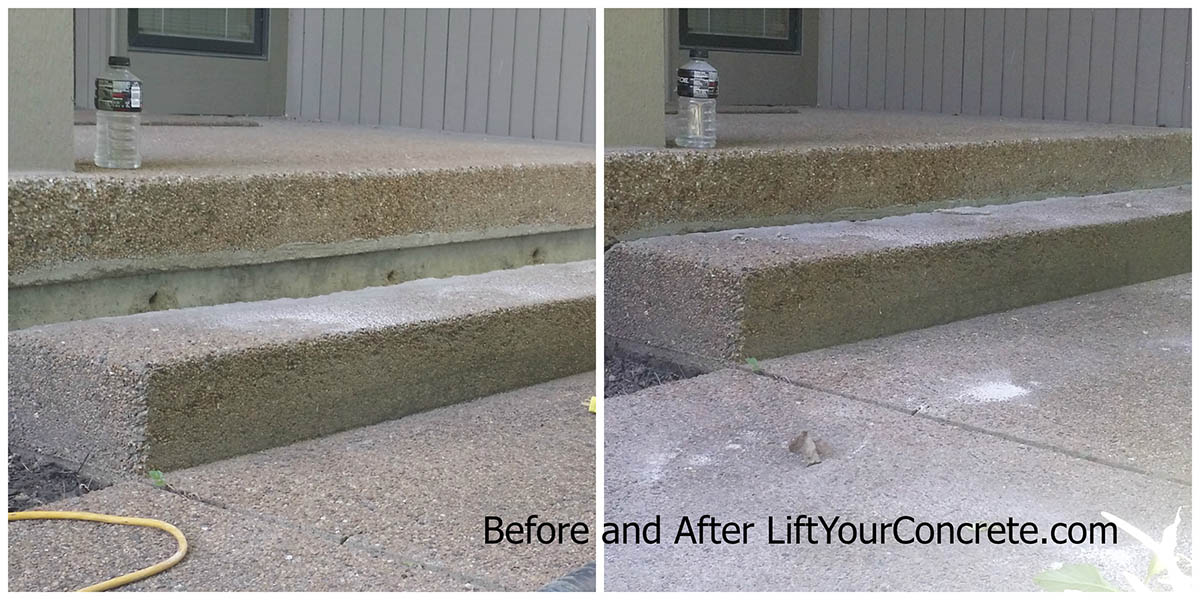 What Can I Do If My Front Steps Are Sinking