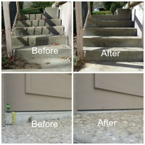Remodel before interest rates start to climb. Use Concrete Raising Systems for your sunken concrete driveway, sidewalk and porch repairs.