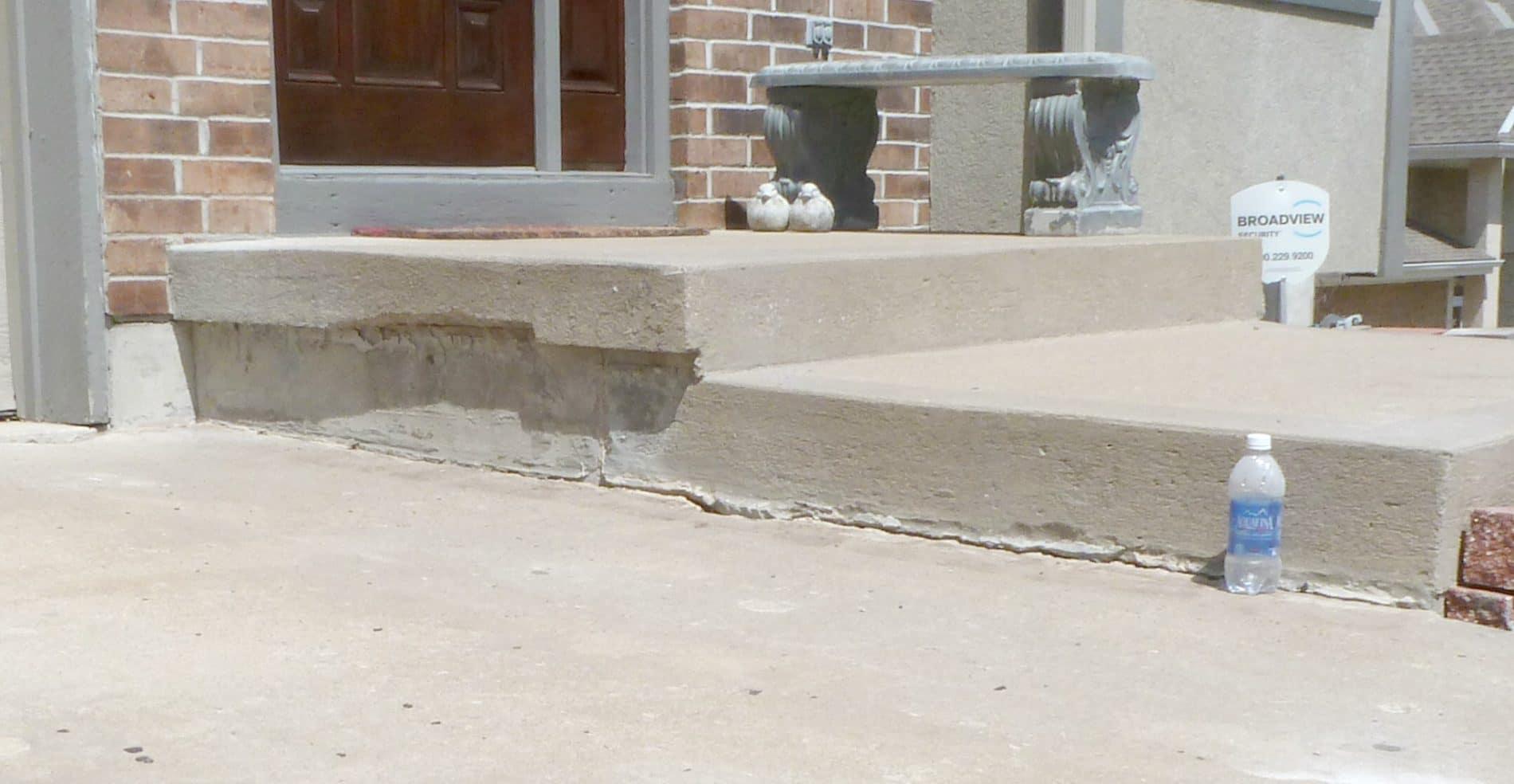 Driveway Repair After Concrete Raising Systems Kansas City