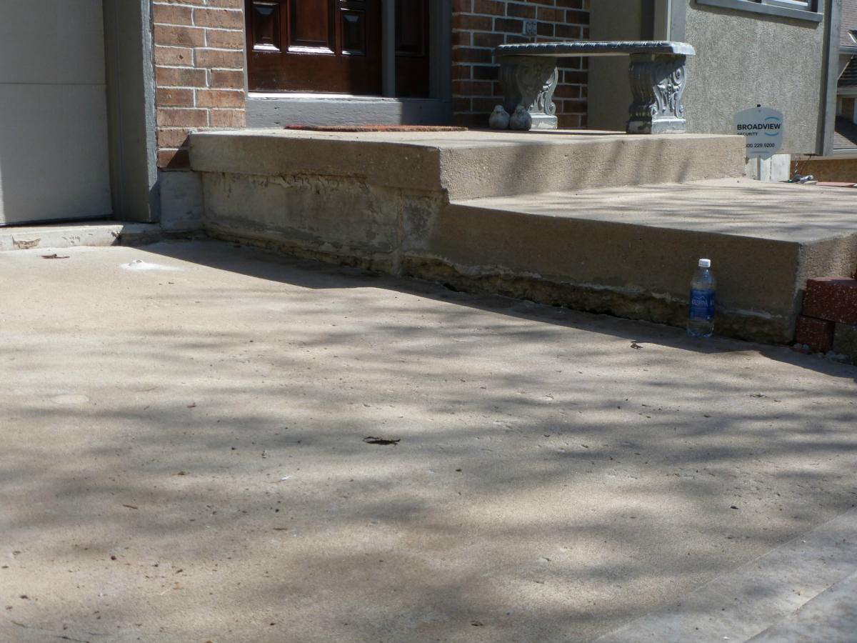 Before And After Photos Concrete Slab Lifting Concrete