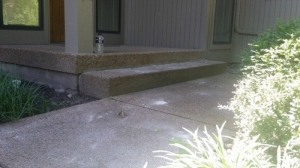 After-Sinking-Concrete-Steps-(2)Concrete-Raising-Systems-7318-N-Donnelly-Ave-Kansas-City-MO-64158