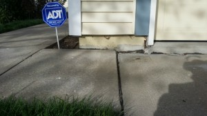 Before-Sinking-Concrete-Driveway-Concrete-Raising-Systems-7318-N-Donnelly-Ave-Kansas-City-MO-64158(1)