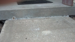 Porch repair after