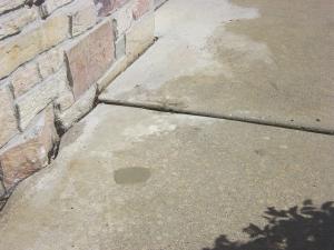 Sidewalk repair after